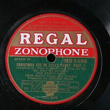 78rpm THE CASEY KIDS christmas eve in casey court