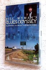 BILL WYMAN'S BLUES ODYSSEY (DVD) RARE,  R-ALL, LIKE NEW, FREE POST IN AUSTRALIA
