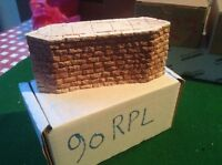 Stone Style Bridge support pier  -OO Scale HO Scale 57mm Tall Rough Stone