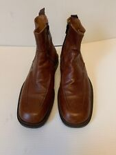 Vero Cuoio  Boots Brown Leather Size 44/ US 11 Italy