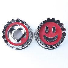 2er Set Smiley  5 cm/  Linzer mit Herz/ mit Auswerfer Ausstecher Ausstechform