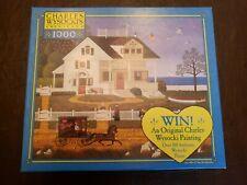 Charles Wysocki Americana 'Pickwick Cottage' 1000 Piece Puzzle Used
