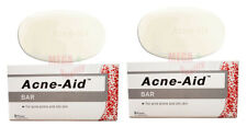 2 x STIEFEL ACNE AID SOAP BAR DEEP PORE CLEANSING PIMPLE OILY SKIN FACE AID 100g