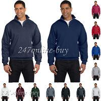 Jerzees Nublend Quarter-Zip Cadet Collar Sweatshirt Fleece Sizes  995MR - 995MR