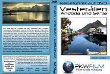 Die Vesteralen+ Senja Inseln ausführlicher Reiseführer z.Urlaubsplanung auf DVD