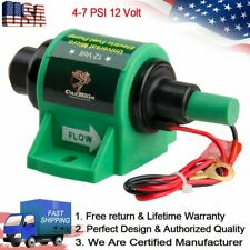 New Micro Electric Diesel Fuel Pump 4-7 PSI 35GPH 12 Volt Inlet outlet 5/16 inch