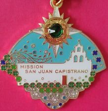 2018 World Heritage Historical Mission San Juan Capistrano Fiesta Medal Pinback!