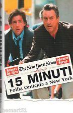 15 minuti. Follia omicida a New York (2001) VHS Warner Home Video