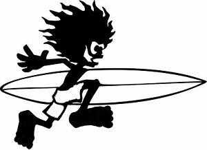 Saltrock Surf board vinyl car van stickers decals graphic skate  small 180 mm