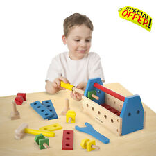 Calming Autism Sensory Educational Toys Kids Wooden Construction Tool Game ADHD