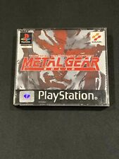 Sony PlayStation 💎Metal Gear Solid💎 Game For PS1 🌟Cracked Box🌟 PAL