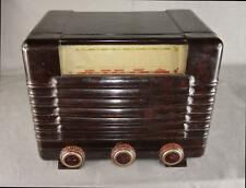Récepteur radio TSF à lampes Philips A43U à restaurer