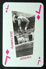 1 x playing card London 2012 Olympic Legends Dick Fosbury Athletics Jack Diamond