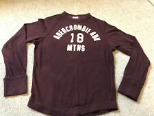 abercrombie and fitch Boys Long Sleeve Top T Shirt Age 8