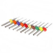 10Pcs PCB Print Circuit Board Carbide Micro Drill Bits Tool 0.3mm to 1.2 mm