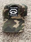 Toyota Trucks Tundra Embroidered Camouflage Mesh Snapback Hunting Hat Trucker