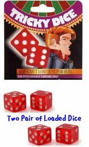 Loaded Dice  Always Win Trick Dice Trick 7 11 Always Win Dice Prank 2 Pair