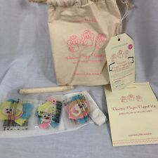 Pottery Barn Kids Make 3 Princess Finger Puppet Set Ages 3+ Craft Kit Girls