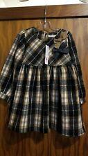 9cb52f6f9f3b New Fall 2018 Mae Li Rose black/tan plaid flannel dress, size 5/
