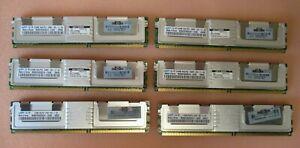 Samsung M395T6553EZ4-CE65 389705-051 3GB 6x512MB PC2-5300 DDR2 ECC CL5 240P RAM