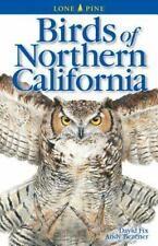 Birds of Northern California by David Fix and Andy Bezener (2000, Paperback,...