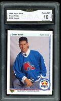 1990 Upper Deck #352 Owen Nolan RC Rookie Graded GMA 10 GEM MINT