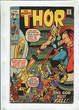 The Mighty Thor #181 ~ Neal Adams Art One God Must Fall! ~ 1970 (Grade 5.0)WH