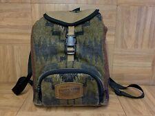 VTG🔥 Pendelton Woolen Mills Small Wool Leather Backpack Mini Festival Bag Aztec
