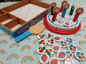 Melissa And Doug Wooden Birthday Cake Toy