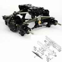 LESU X-8002-A Metal Rear Suspension Axle Set For 1/14 TAMIYA RC Tractor Truck