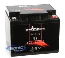 SHURiKEN SK-BT45 1250 Watt 12-Volt AGM Car Battery Power Cell