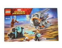 Lego Marvel 76102 Thor's Weapon Quest - Instruction Manual Only