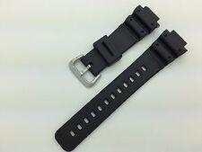 16mm Black Rubber Waterproof Hadley Roma Watch Band MS3153 fits G Shock DW6900