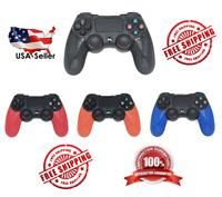 Wireless Controller Black, Orange, Red, Blue Compatible For PS4 PS3 PC