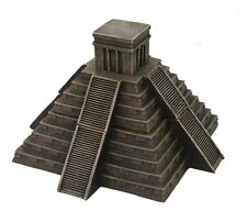 Mesoamerican Aztec Pyramid Box Collectible Desktop Decorative Accessory Trinket