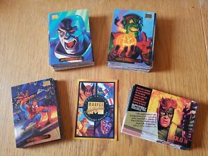 1994 Fleer Marvel Masterpieces Trading Cards - Pick From Long List