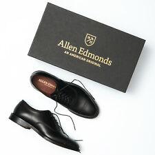 Allen Edmonds Park Avenue Black Leather Cap Toe Oxfords - Men's 7.5 D