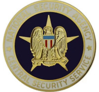 ARMY IDENTIFICATION BADGE: NATIONAL SECURITY AGENCY CENTRAL SECURITY SERVICE MIN