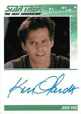 Star Trek TNG Heroes & Villains Autograph Card Ken Olandt as Jason Vigo