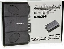 Audiopipe APMI-4080 1200 Watt 4-Channel Class AB Car Amplifier BRAND NEW