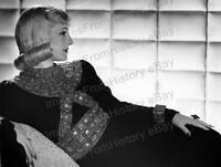 8x10 Print Norma Shearer Fashion Portrait by Laszlo Willinger 1939 #NS95