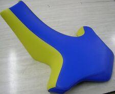 Suzuki  LT500   quadracer seat cover blue / yellow
