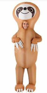 Inflatable Sloth Costume Adults Giant Animal Suit Funny Unique Fancy Dress Up