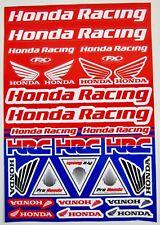 Factory Effex Honda Racing Universal OEM Sticker Sheet HRC CBR VFR CR CRF NEW