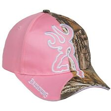 Browning Big Buckmark Pink / Realtree Xtra Camo Women's Hunting Hat / Cap - NEW!