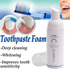 V-WHITE Foam Toothpaste Cleaning Whitening Tooth Mouth Wash Teeth Oral Hygiene