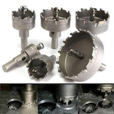 HSS Acero inox metal duro Broca de Corona Sierra Circular helicoidal Juego
