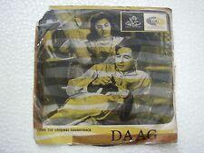 DAAG SHANKAR JAIKISHAN TAE 1329 1966 RARE BOLLYWOOD india Hindi RECORD ANGEL vg+