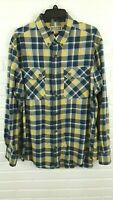 Duluth Trading Men's Plaid Long Sleeve Button Up Shirt Size L