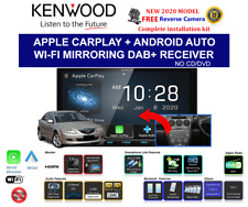 """Kenwood DMX8520DABS Digital Media Receiver with 7.0"""" Wireless Apple Carplay & Android Auto"""